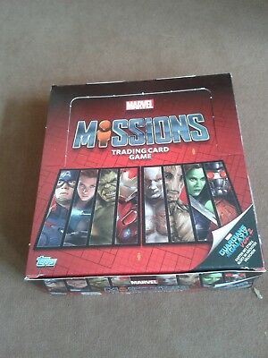 Marvel Missions Trading Card Game Sammelkarten Guardians Of The Galaxy Vol. 2