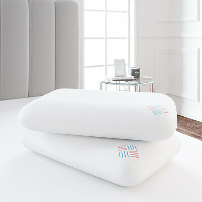 New Luxury Bamboo Memory Foam Pillow, Soft Anti-Bacterial Premium Neck Support