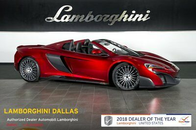 2016 McLaren 675 LT Spider  EXTERIOR ELITE PAINT+NAVIGATION+RR CAM+VEHICLE LIF+CARBON FIBER EXT/INT+FORGED