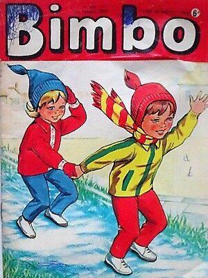 BIMBO - 4th JANUARY 1969 (30 Dec - 5 Jan) RARE 50th BIRTHDAY GIFT !! VGC...dandy