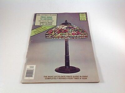 Vintage Summer 1976 Magazine Antique Trader Price Guide to Antiques.