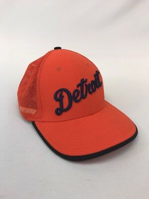 buy popular 418cf c16f6 Nike Boys Youth Orange Dri-Fit Legacy91 Detroit Tigers Baseball Cap Sz One  Size