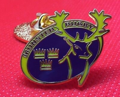 Munster Rugby Pin Badge