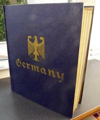 Germany - Stamp Collection in an Old Minkus Album - No Reserve!