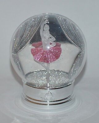 Bath & Body Works Pink Ballerina Snow Globe Nightlight Wallflower Plug In Holder