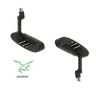 AGXGOLF BOY'S TEEN EDITION ACCUPOINT FLANGE PUTTER wCOVER - IMPROVE YOUR GAME!
