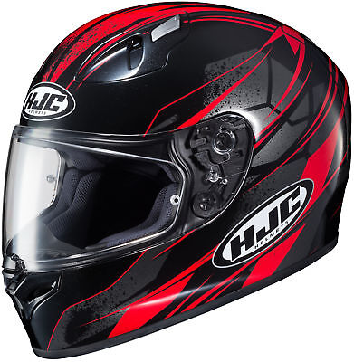 HJC 0817-2101-09 FG-17 Toba Helmet 3XL Black/Red
