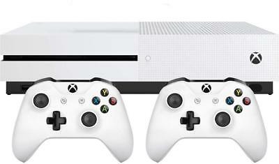 Microsoft Xbox One S 1TB, Two-Controller Bundle - Brand New