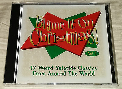 Disney's Blame It on Christmas (CD) Yuletide Classics From Around The World
