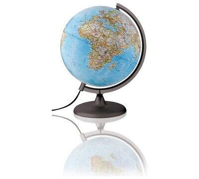 Illuminated Political & Physical Globe in Very Good Condition