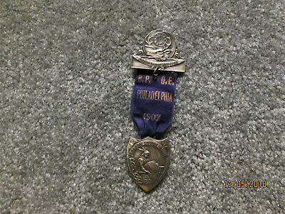One Of A Kind  1907 Elks  Grand Lodge Reunion Pin Issues By Boston #10 Bpoe