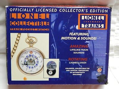 Lionel Legendary Trains Pocket Watch In Box  (#27)