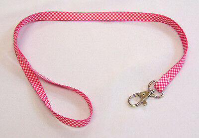 Bright colourful thin printed neck strap lanyards - comfortable and lightweight