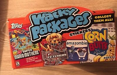 Box of 24 Packs of Wacky Packages Topps 2012 Series 9 New Sealed Packs
