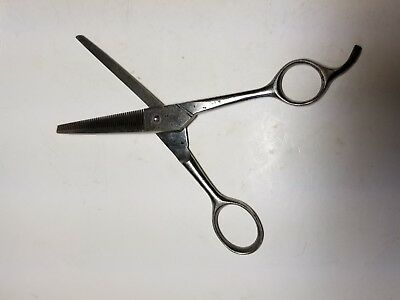 Vintage F.W. Engels Solingen Germany Stainless Hair Thinning Scissors
