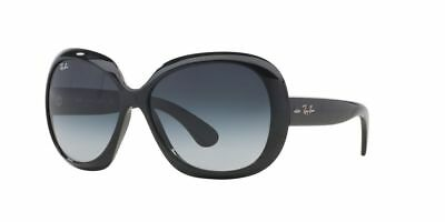 New Ray-Ban Jackie Ohh Ii Sunglasses Rb 4098 601/8G - 60 Black Gray
