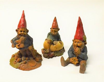 Tom Clark Gnomes, Lot of 3: Doug, Chick & Mugmon