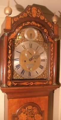 "A Superb Antique Walnut  Marquetry  "" London ""  Grandfather/longcase Clock"