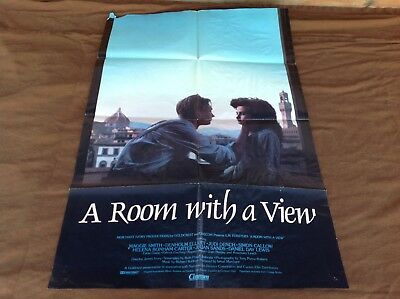 1985 Room With a View Original Movie House Full Sheet Poster