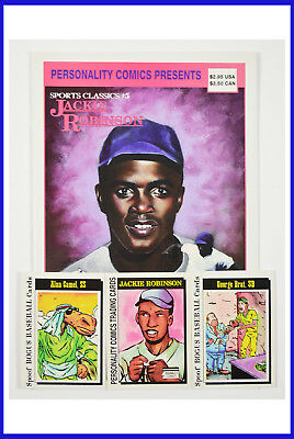 Jackie Robinson Sports Classics #5 Personality 1992 Limited Edit. FN+ Comic Book