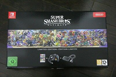 NEW Super Smash Bros. Ultimate Limited Edition (Nintendo Switch) - NO CONSOLE