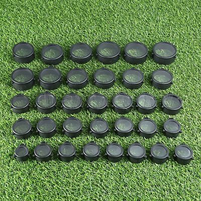 Transparent Rifle Scope Lens Cover Flip Up Quick Spring Protection Objective Cap