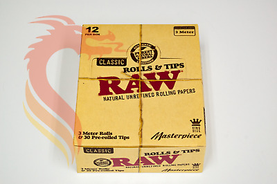 RAW Classic Masterpiece Kingsize Rolls