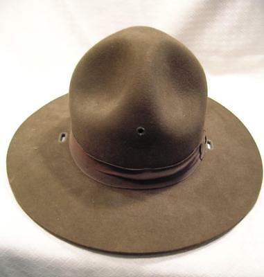WWI WW1 US Doughboy M1911 Campaign Hat Great Condition - No Cord ~Unknown maker