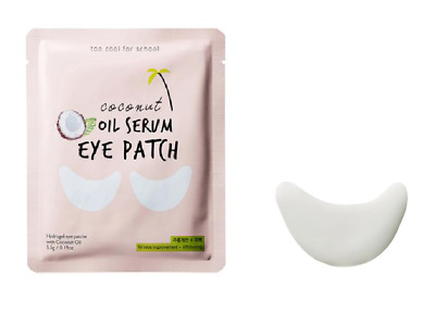 [ Too Cool for School ] (3 Packs) Coconut Oil Serum Eye Patch 5.5g