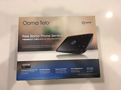 Ooma Telo - Home VOIP Phone Service - Used - Excellent Condition