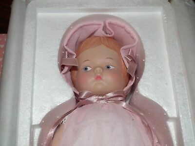 "1994 Effanbee 14"" Porcelain Doll Patsy MP133 Mint New in Box, #1396/5000"