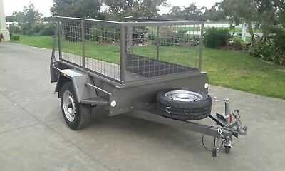 6 x 4 trailer and cage