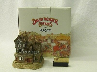 David Winter Cottages The Bird Cage Pubs & Taverns Of England Collection