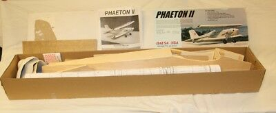 Vintage Balsa Usa Phaeton Ii .40 Kit R/c Airplane