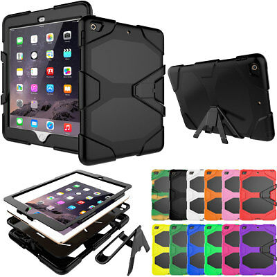 For iPad 9.7 2018 2017 6th Generation Shockproof Heavy Duty Case Stand 360 Cover