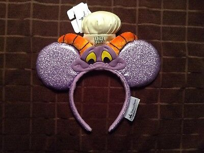 Disney Parks Figment Epcot Food And Wine Festival 2017 Retired Chef Mickey Ears