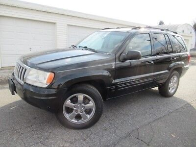 2004 Jeep Grand Cherokee Limited 2004 Limited Used 4.7L V8 16V Automatic 4WD SUV