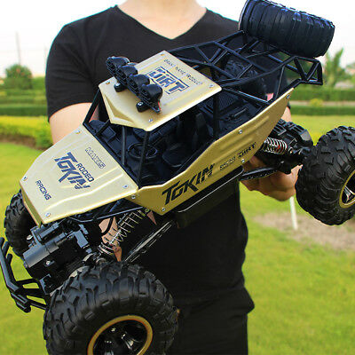 4WD Monster Truck Scale 1:12 2.4G RC Rock Climbing Car Remote Control Drift Toy
