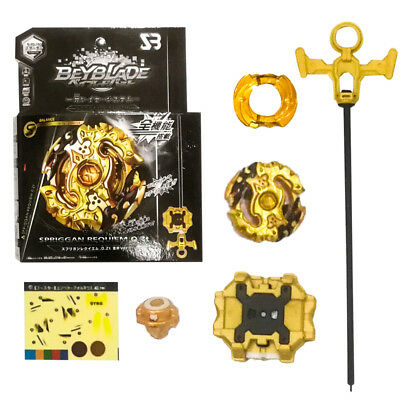 BEYBLADE BURST B-00-100 STARTER SPRIGGAN REQUIEM .0.Zt GOLD AX.VER.With BOX