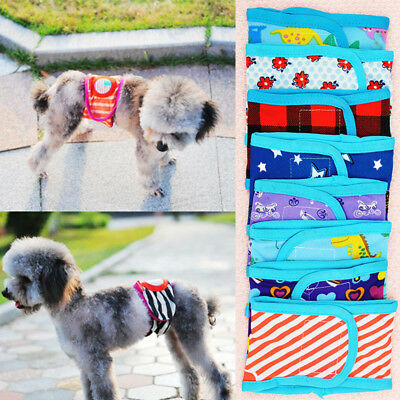 Random Pet Male Dog Supplies Cotton Sanitary Belly Band Diaper Physiological