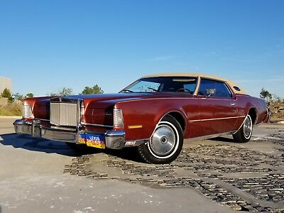 1974 Lincoln Continental IV 1974 Lincoln Continental Mark IV