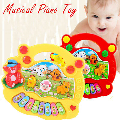 Toys For Girls Kids Children Musical Piano For 3 4 5 6 7 8 9 10 Years Old Age
