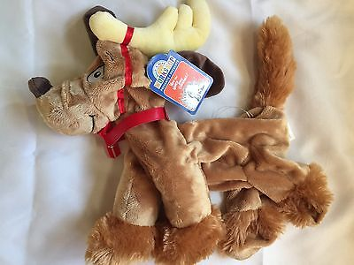 New UNSTUFFED Build-A-Bear 16in MAX DOG 2015 Plush How Grinch Stole Christmas