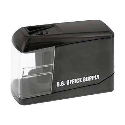 Automatic Electric Pencil Sharpener Plug In USB Battery Heavy Duty Office Laptop