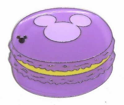 2015 Disney WDW Hidden Mickey Series Macaron Purple Pin N5