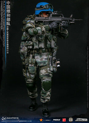 Damtoys 78062 Chinese Peacekeeper Pla In Un Peacekeeping Operation 1/6 Pre-Order