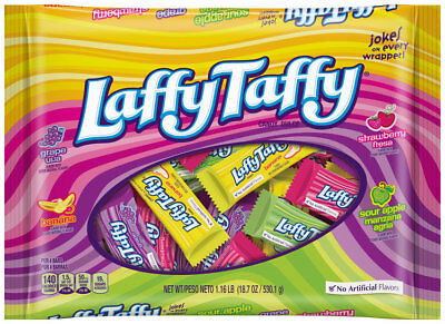 New Sealed Laffy Taffy 18.7 Oz No Artificail Flavors Free Worldwide Shipping