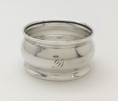 """A Fine Reed & Barton? Sterling Silver Napkin Ring """"D"""""""