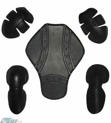 5pc Armour for Motorcycle Jacket CE Protection - 50% OFF SALE