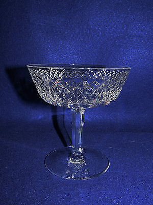"Waterford ""alana"" Champagne / Tall Sherbet Goblet (S)- Irish Lead Crystal - Mint"